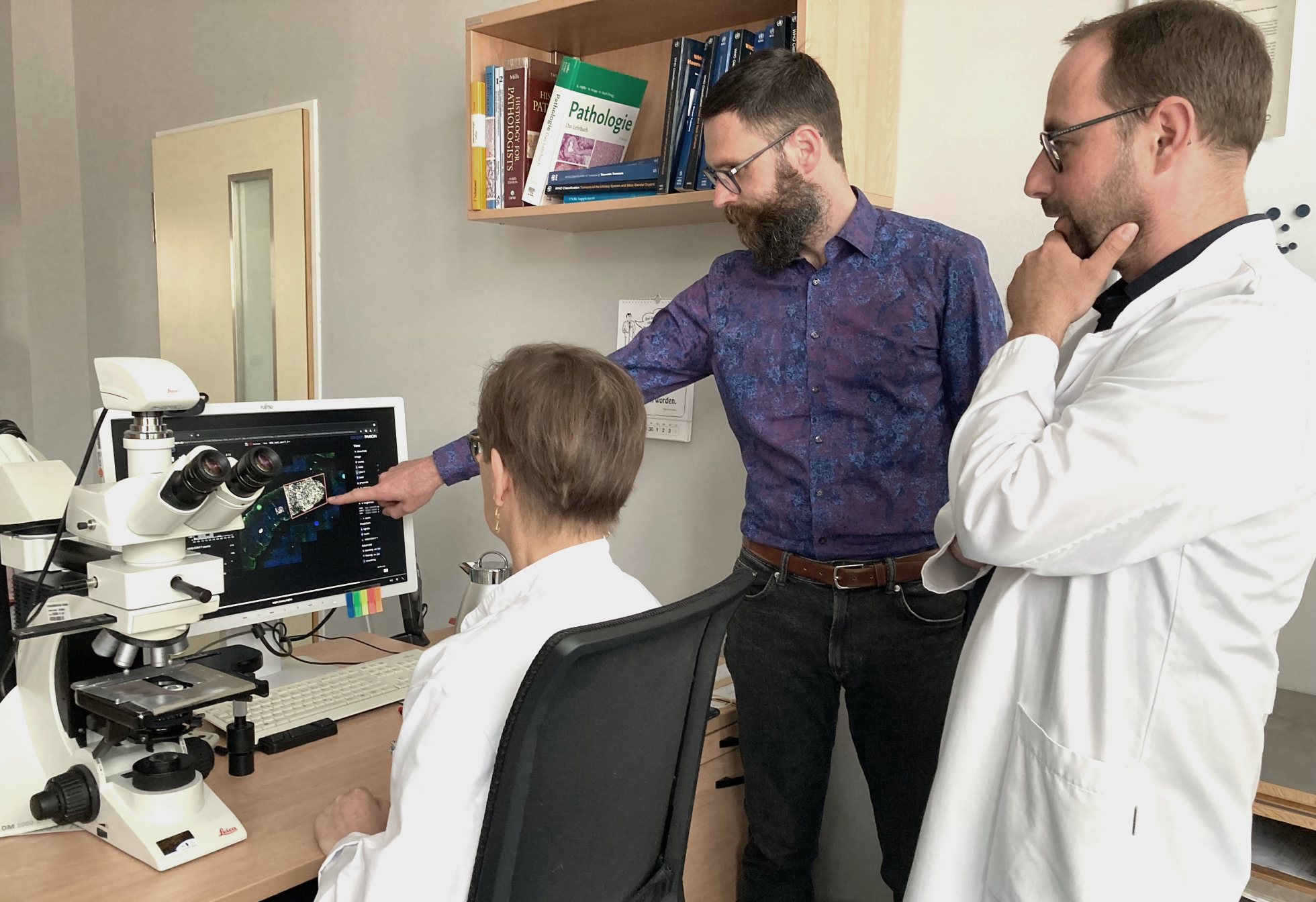 The run continues: AI-based software system for pathology in testing phase & professorship for Clinical AI at EKFZ